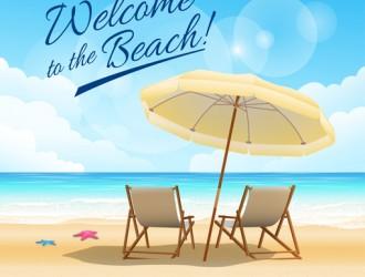 spiaggia, mare, ombrellone, sdraio – welcome to the beach