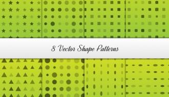 8 pattern forme geometriche – shape geometical pattern