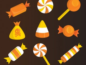 9 caramelle Halloween – candies