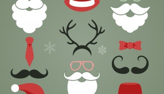 Natale elementi – Christmas hipster elements