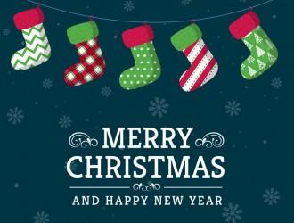 bigliettino calze Natale – Christmas stockings card