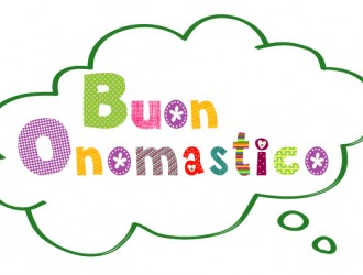 buon onomastico – happy name day