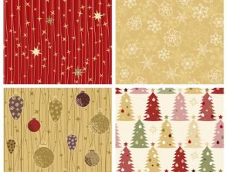 4 pattern Natale – cute Christmas pattern