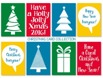 8 cartoline Natale – Christmas card collection