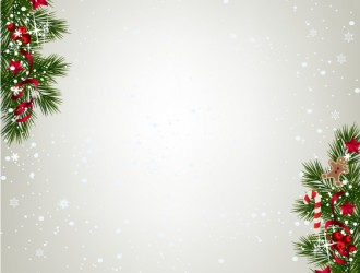 sfondo Natale decori angolo – background with Christmas corner decor