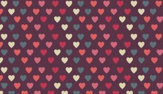 pattern cuori amore – love pattern vector