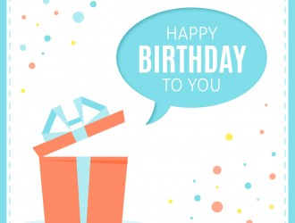 regalo compleanno – open gift happy birthday to you