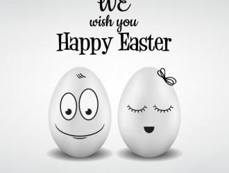 we wish you Happy Easter – uova Pasqua