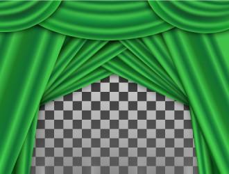 sipario verde – green curtains