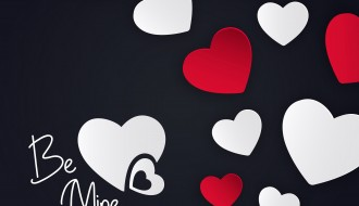 be mine love background – sfondo cuori