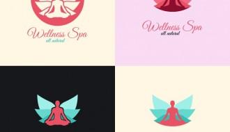 centro benessere logo – Wellness Spa Logo