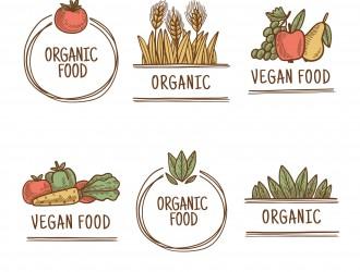 6 etichette cibo vegano – vegan food labels