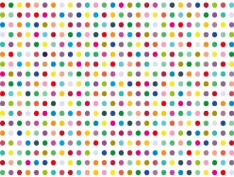 Sfondo pois colorati – colorful polka dot background