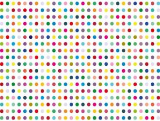 Sfondo pois colorati – colorful polka dot background