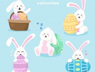 coniglietti Pasqua – 5 Easter bunny collection